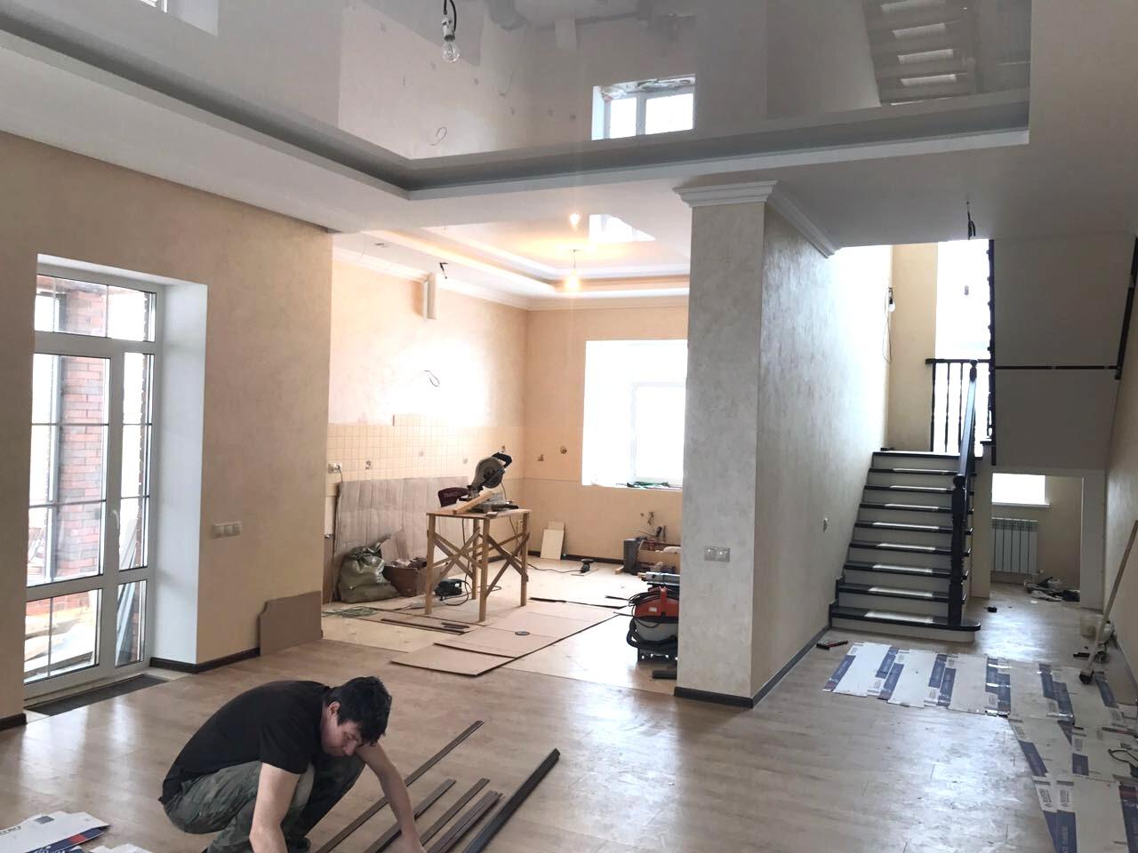 Проект дома из газоблока на 213 кв м с мансардой и