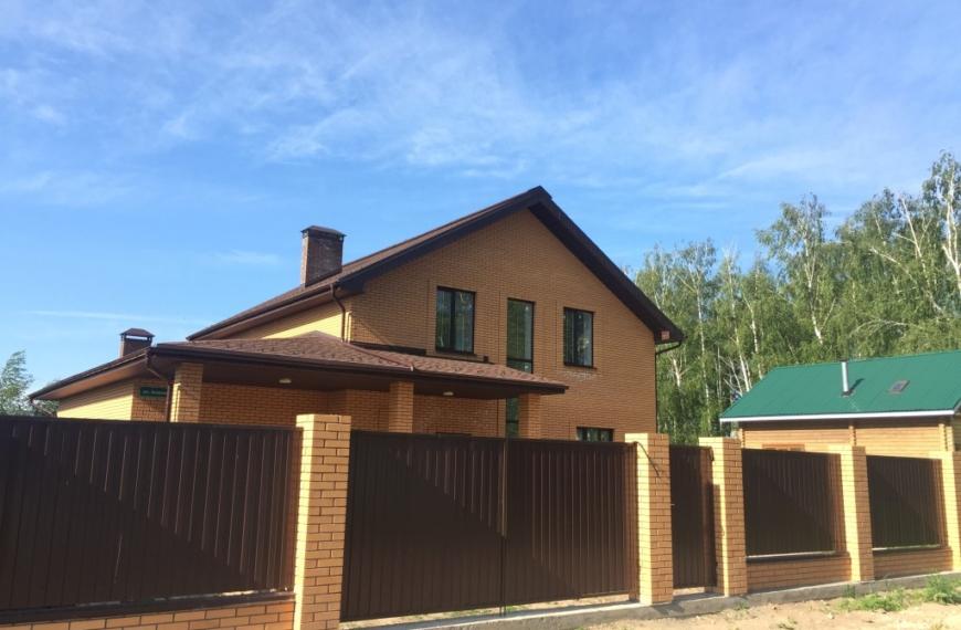 Дом 180 кв. м в п. Новочувашский